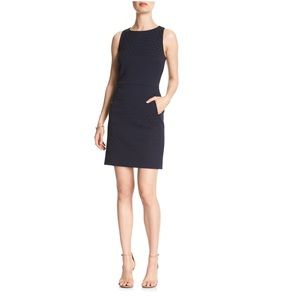Banana Republic Blue Dot Jacquard Sheath Dress